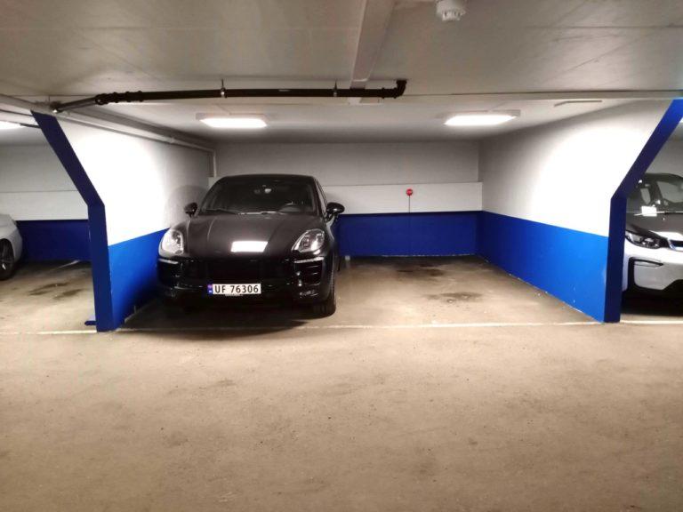 Marcusbil parkering